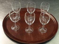 4-3 wine glasses